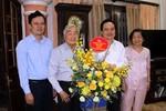 Bộ trưởng Phùng Xuân Nhạ chúc mừng Chủ tịch Hội Cựu Giáo chức Việt Nam