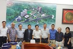 Hiệp hội tới thăm và làm việc với lãnh đạo trường Đại học Phenikaa