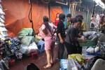 Cháy lớn ở chợ Đồng Tâm (Hai Bà Trưng, Hà Nội)