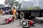 Hà Nội: Tai nạn giao thông nghiêm trọng gần cổng trụ sở Bộ công an