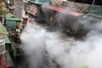 Cháy lớn ở khu tập thể sĩ quan quân đội, 1 trung úy bị thương