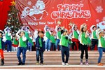 Thầy trò trường Tiểu học Ngôi sao HN tưng bừng đón Giáng sinh
