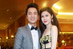 Vợ Đăng Khôi, Quế Vân diện váy ren táo bạo dự đám cưới Tuấn Hưng
