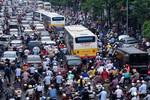 Hà Nội bắt đầu cấm xe máy nội đô từ năm 2030