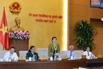 Ủy ban Thường vụ Quốc hội họp phiên thứ 12