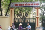 Cách chức Hiệu trưởng Trường Trung học phổ thông Ngô Thì Nhậm