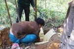 Phát hiện một thi thể trẻ sơ sinh bị vứt trong nghĩa địa