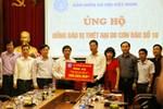 Bảo hiểm xã hội Việt Nam ủng hộ đồng bào khắc phục hậu quả bão số 10