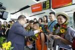 Vietjet chào mừng chuyến bay đầu tiên Hà Nội – Đài Trung