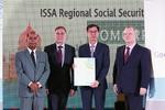 Bảo hiểm xã hội Việt Nam nhận giải thưởng thành tựu của ISSA