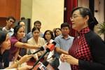 Bà Nguyễn Thị Quyết Tâm nhận xét về hai cán bộ có tín nhiệm thấp