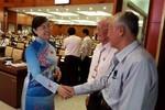 Bà Nguyễn Thị Quyết Tâm: Cán bộ phải hiểu cơm mình ăn, áo mình mặc đều của dân
