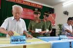 2 cử tri 116 tuổi vẫn tham gia bỏ phiếu ở TP.Hồ Chí Minh