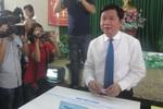 Bí thư Đinh La Thăng lần đầu tiên thực hiện quyền công dân ở TP.Hồ Chí Minh