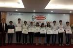 Trao 60 suất học bổng cho sinh viên tại TP.Hồ Chí Minh và Hà Nội