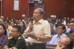 Bí thư Đinh La Thăng nói đừng để chợ cháy xong mới lo phòng, chữa