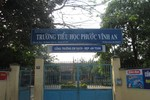 Trường tiểu học Phước Vĩnh An có nhiều sai phạm trong hoạt động tài chính