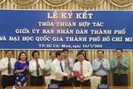 Thành phố Hồ Chí Minh ký thỏa thuận hợp tác với Đại học Quốc gia