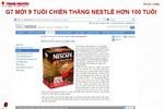"""""""Tôi không tin là Trung Nguyên 9 tuổi lại thắng được Nestlé 100 tuổi!"""""""