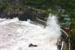 Cơn bão số 2: Vỡ đê, 50 hộ gia đình phải sơ tán khẩn cấp