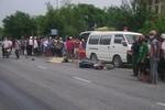 Bất cẩn khi sang đường, một phụ nữ bị xe tải đâm tử vong trên QL 1 A