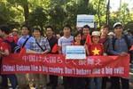 Người Việt tại Nhật Bản xuống đường tuần hành phản đối Trung Quốc
