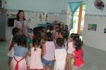 Hơn 30 năm, cô giáo vẫn say đắm nghề nuôi dạy trẻ