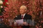 Tổng Bí thư Nguyễn Phú Trọng chúc Tết đồng bào và chiến sỹ cả nước