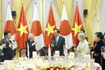 Chủ tịch nước: Nhật Bản thực sự là người bạn thân thiết của Việt Nam