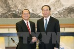 Chủ tịch nước tiếp một số doanh nghiệp Trung Quốc tại Việt Nam