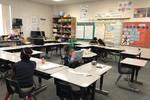 Trang trí lớp học kiểu Mỹ