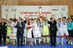 Tưng bừng lễ bế mạc và trao giải HDBank Futsal 2017