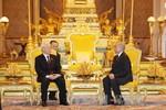 Kết quả cuộc hội đàm giữa Tổng Bí thư Nguyễn Phú Trọng với Quốc vương Campuchia