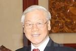 Tổng Bí thư Nguyễn Phú Trọng hội kiến Chủ tịch Thượng viện Vương quốc Campuchia