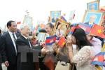 Tổng Bí thư Nguyễn Phú Trọng kết thúc tốt đẹp chuyến thăm Campuchia