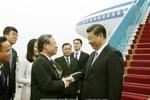 Hình ảnh Tổng Bí thư, Chủ tịch Trung Quốc Tập Cận Bình đến Hà Nội