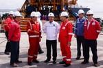 Khai thác thăm dò dầu khí về đích trước kế hoạch 44 ngày