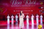 Vòng bán kết Hoa khôi Sinh viên: Thí sinh khoe vẻ đẹp kiêu sa trong tà áo dài.
