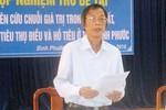 Thu hồi Huân chương Lao động của một Giám đốc Sở khai man thành tích