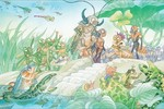 """Triển lãm """"Dễ mèn phiêu lưu ký - chạm tới những thế giới"""""""