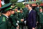 Chủ tịch nước Trần Đại Quang thăm chúc Tết tại tỉnh Kon Tum
