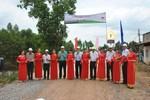 Vietsovpetro khánh thành và bàn giao công trình cầu nông thôn tại Long An