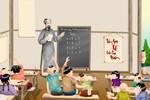"""""""Thầy giáo tháo giày, tháo cả ủng thủng cả áo, tháo giáo án dán áo"""""""