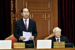 Hình ảnh các đại biểu họp Hội nghị Trung ương 7