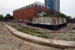 Phát lộ tường hào, nền móng ở Di tích Thành Điện Hải