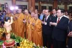 Phó Thủ tướng Thường trực Trương Hòa Bình dự Đại lễ Phật đản Phật lịch
