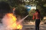 Bình Thuận tập huấn phòng cháy chữa cháy cho cán bộ, giáo viên và học sinh