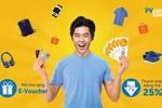Giảm ngay 25% tại Shopee với thẻ PVcomBank Mastercard