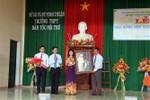 Ông Võ Văn Thưởng dự lễ khai giảng tại Trường Dân tộc nội trú Ninh Thuận