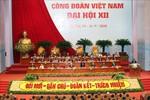 Tổng Bí thư dự Đại hội Công đoàn Việt Nam lần thứ XII